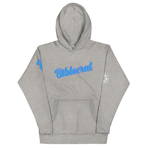 Biblocrat Ice-Blue Hoodie