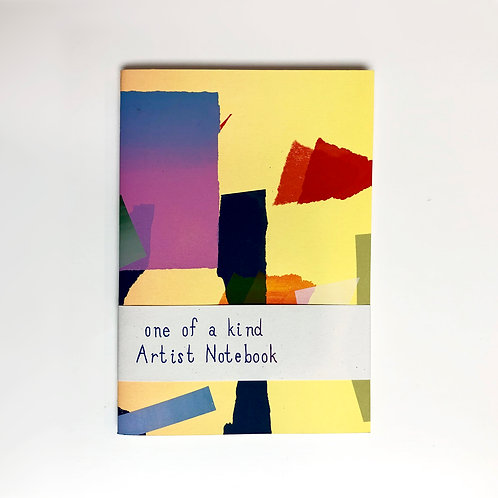 ONE-OF-A-KIND ARTIST NOTEBOOK #06 by Paradise Association