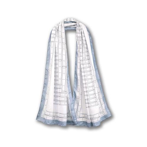 《香港藝術館》圍巾(灰色) HKMOA Scarf - White