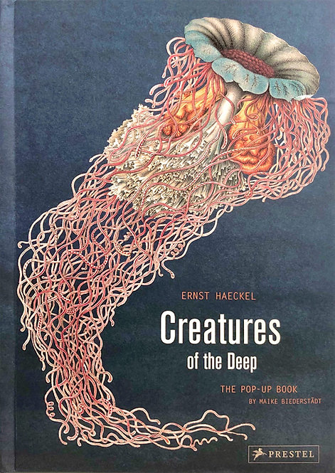 Creatures of The Deep : The Pop-Up Book | Ernst Haeckel, Maike Biederstaedt