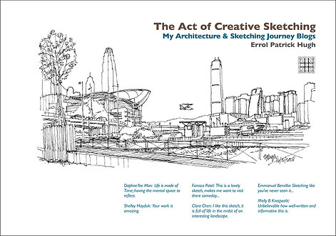 THE ACT OF CREATIVE SKETCHING — MY ARCHITECTURE & SKETCHING JOURNEY BLOGS