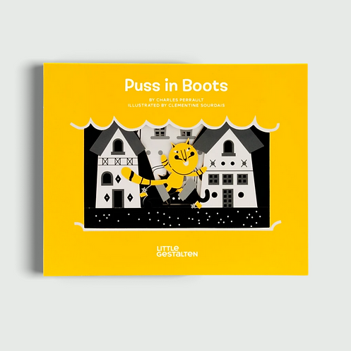 Puss in Boots by Charles Perrault, illustrated by Clémentine Sourdais