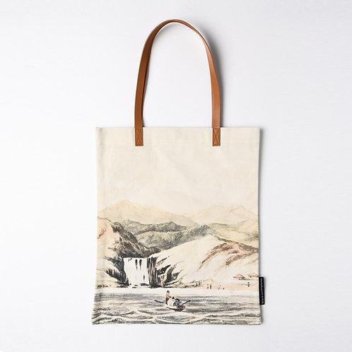 側背袋: 香港仔附近的瀑布  Waterfall at Aberdeen Tote Bag