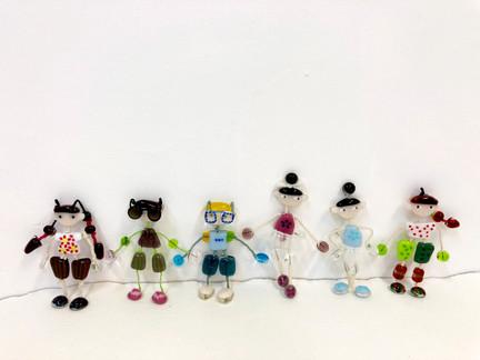 Fanny Mak : Glass Figurines