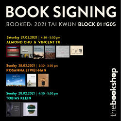 Book Signing at BOOKED 2021