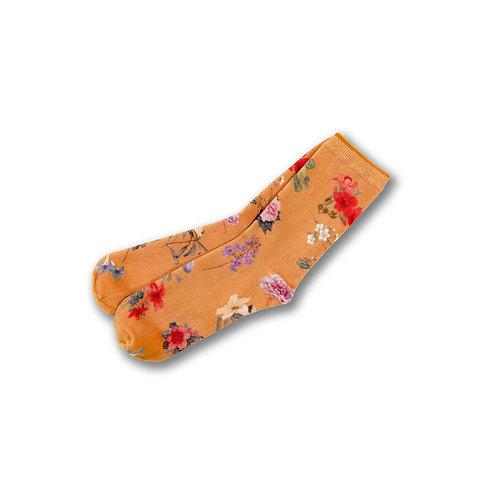《百花圖》襪  A Hundred Flowers Socks