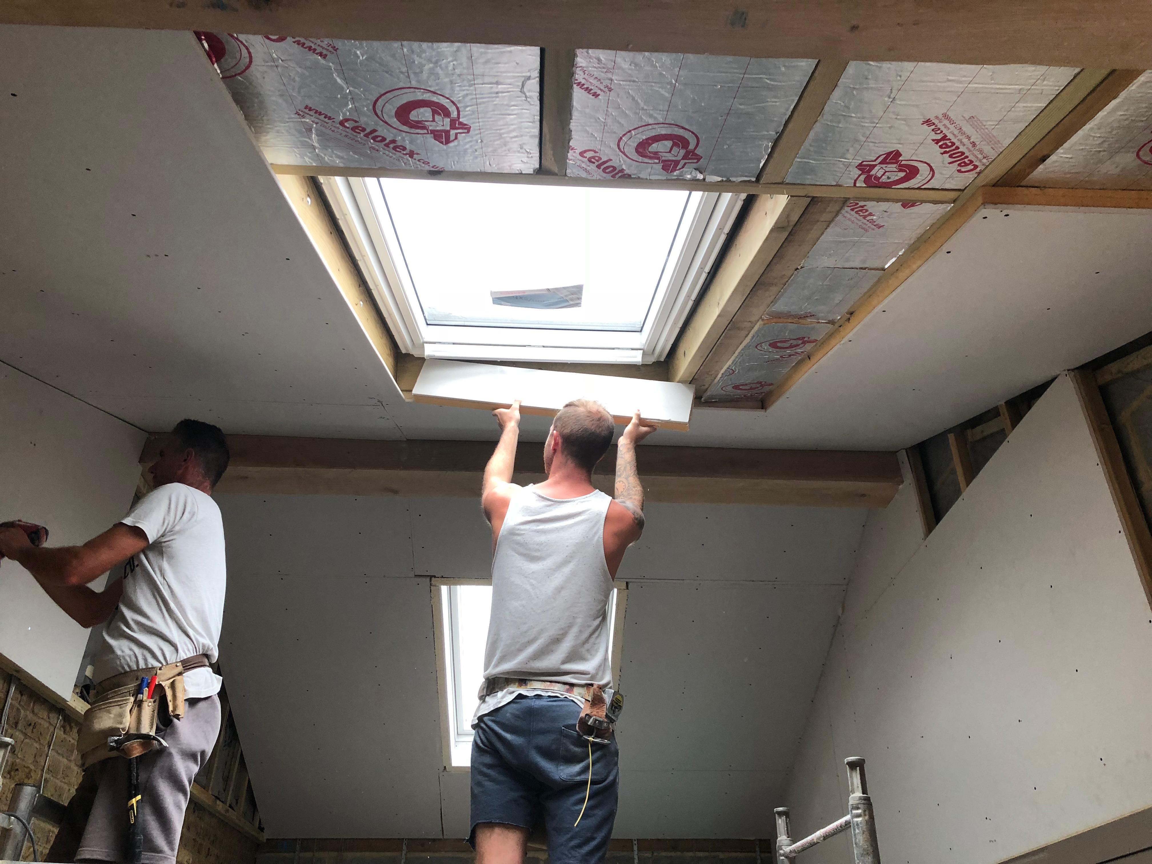 Plastering. Building work. Ashford.