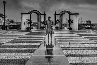 Terceira Azoren - Angra Hafen
