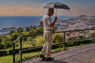 Funchal Madeira - Aussicht auf Regen