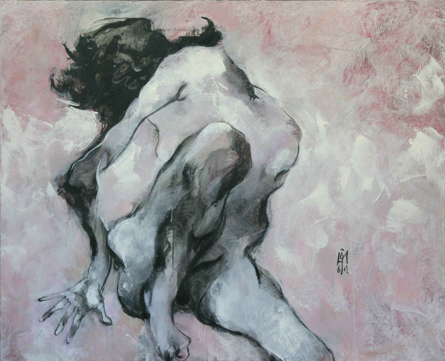 Sitting Nude Acryliic on Canvas 108 x 133cm.jpg
