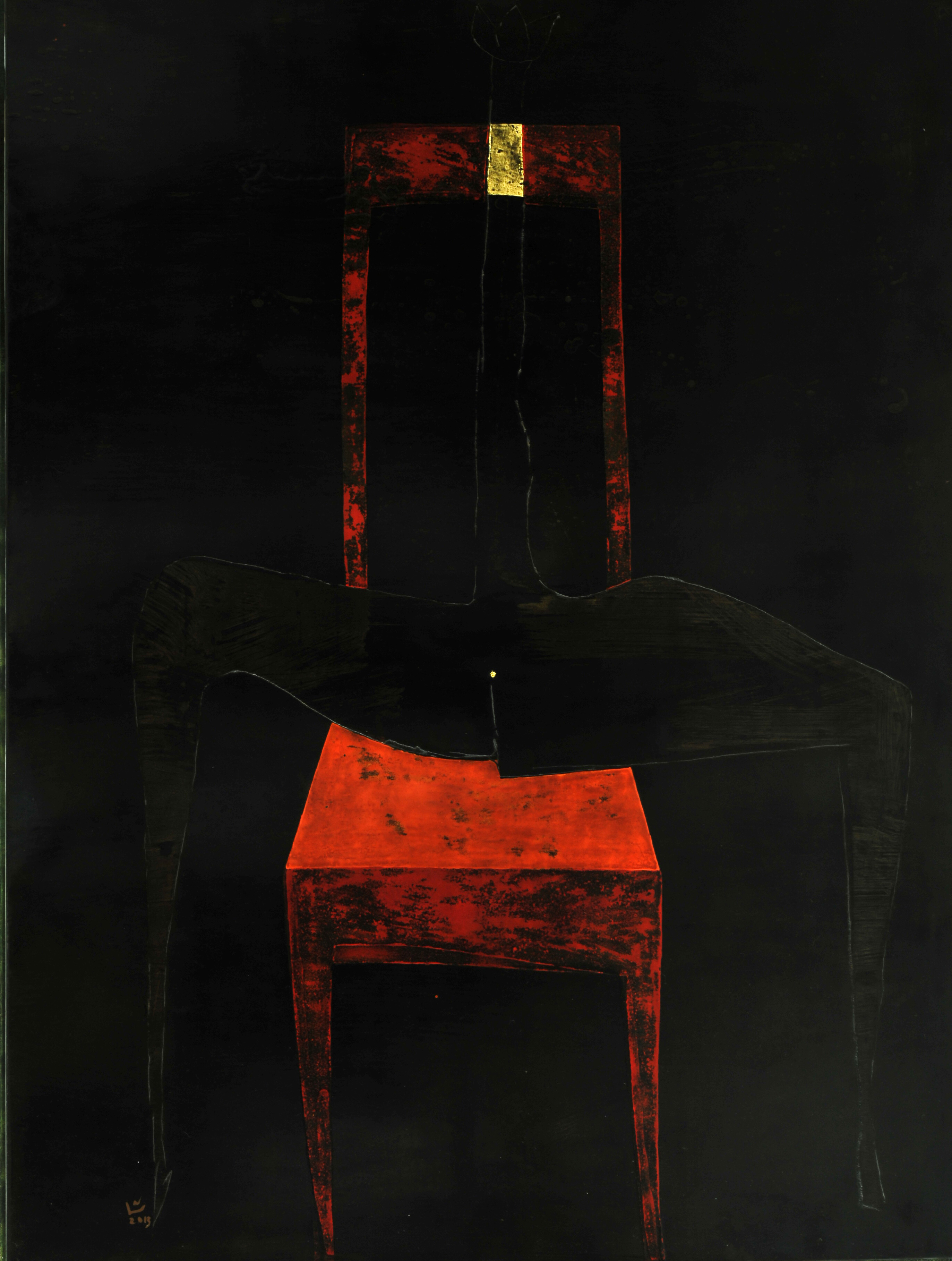 Red chair, 2013