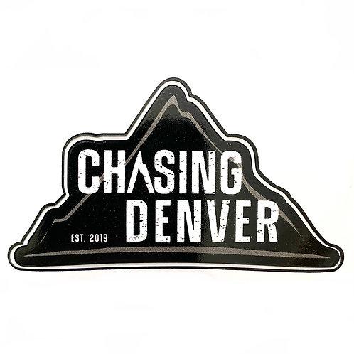"Chasing Denver 3"" Sticker"