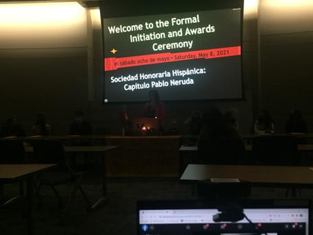 F2F Ceremony! (Initiation + Awards)