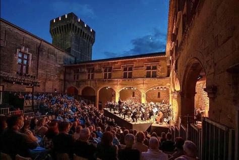 Concert OPPM Château de l'Emperi Salon