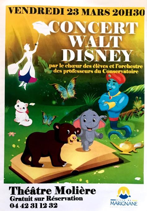 Concert Walt Disney