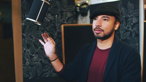 Enregistrement studio Sam Qurashi