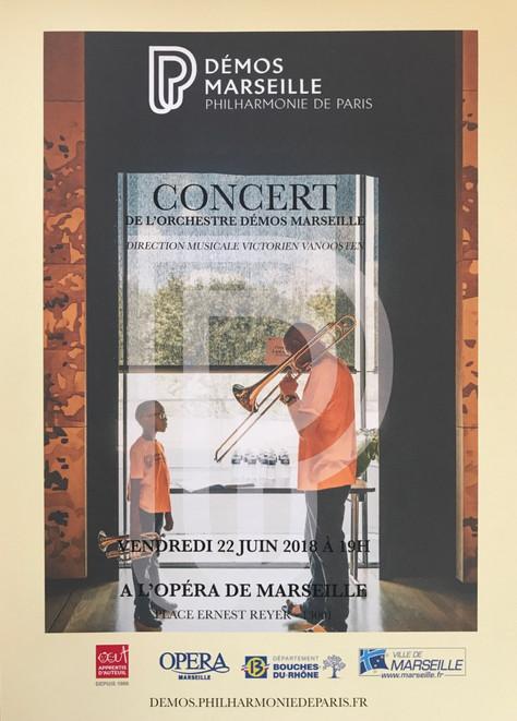 Concert de l'Orchestre Démos Marseille