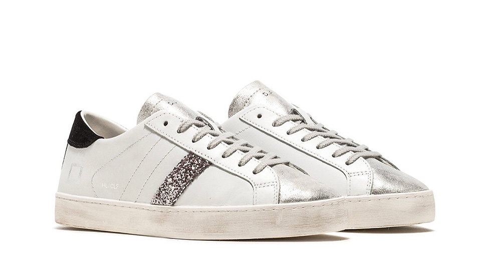 SNEAKERS DONNA D.A.T.E. HILL LOW CALF