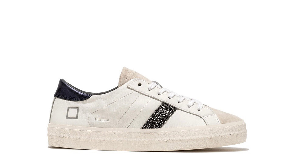 SNEAKERS DONNA D.A.T.E. HILL LOW GLAM