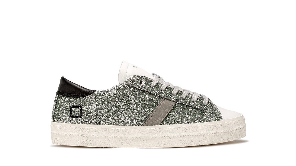 SNEAKERS DONNA D.A.T.E. HILL LOW GLITTER