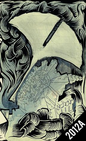2012A TRAVEL SKETCHBOOK