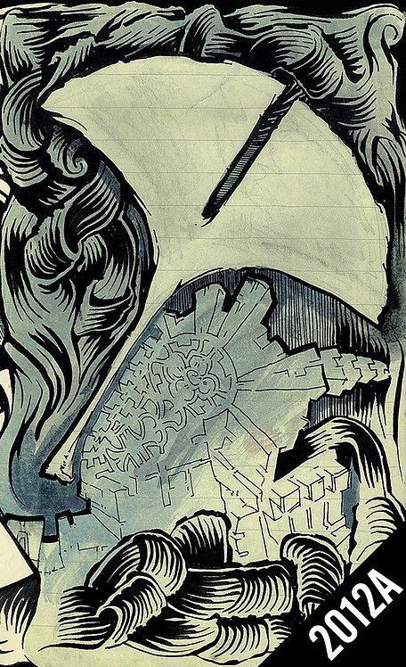 2012A Travel Sketchbook (Digital PDF)
