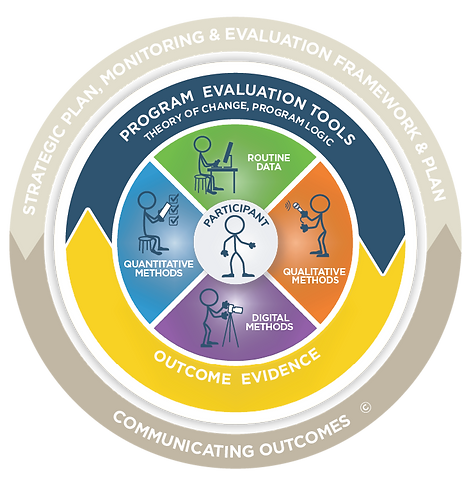 Disc diagram showing areas of evaluation.