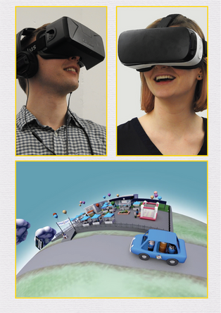Evaluation storytelling with Virtual Reality (2016-2021)