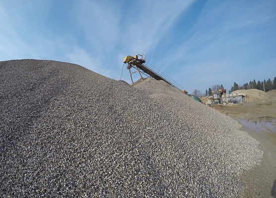 Купить песок и щебень | Карьер Емань | Воронеж, Липецк | ПГС Емань