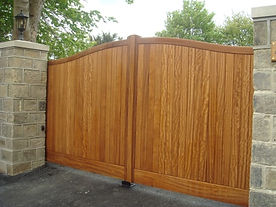 Automated Timber Gate Installers Harrogate