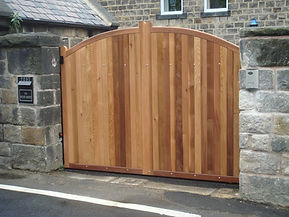 timber automatic gate installers bradford