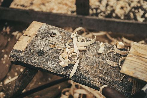 el trabajo de madera