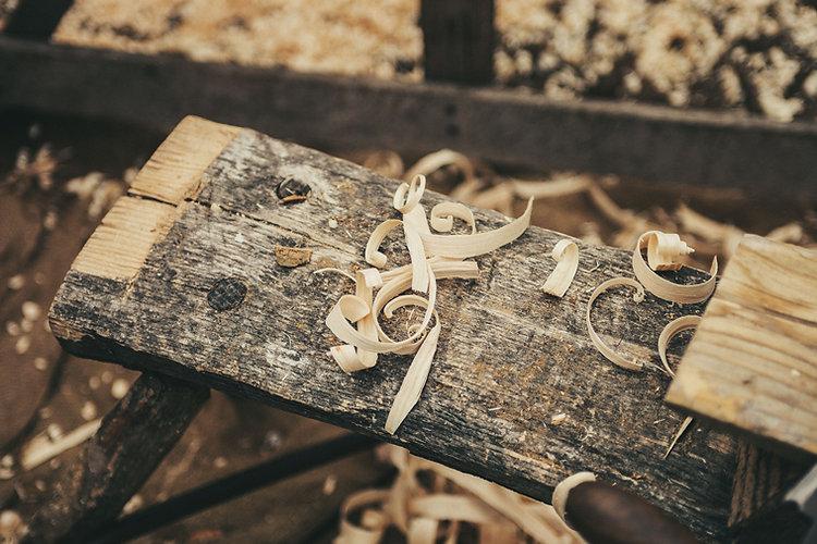 lavoro del legno
