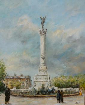 Le monument des Girondins