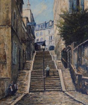 Escaliers de Montmartre II