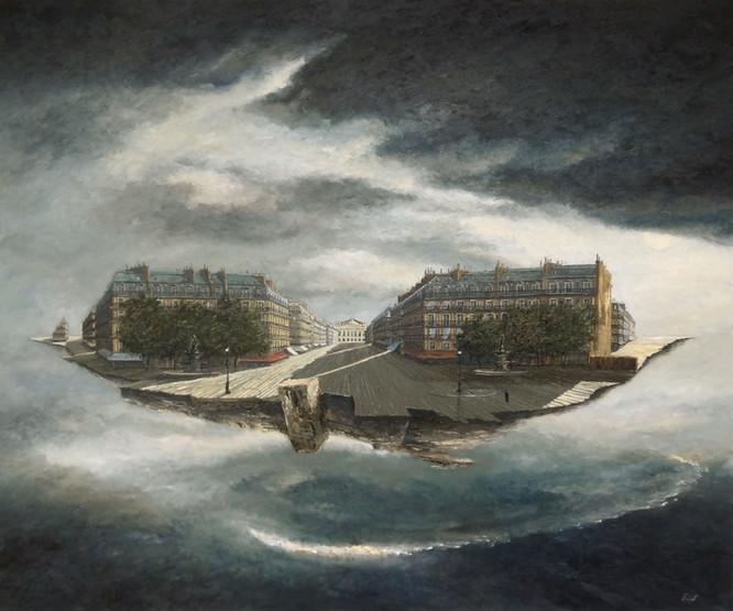Avenue de l'Opéra-Paris - Vestige I -