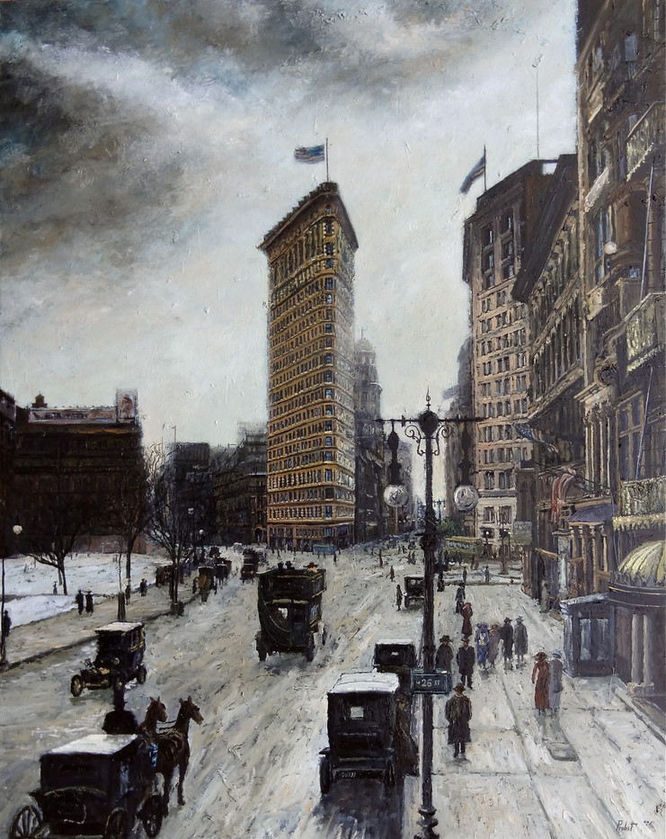 The Flat Iron in Winter