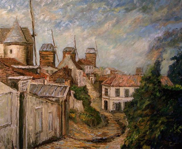 Montmartre les Moulins