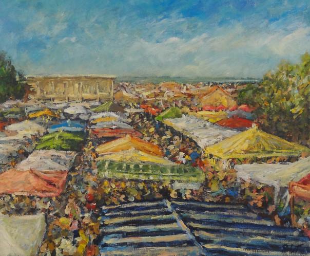 Montalivet - Le marché