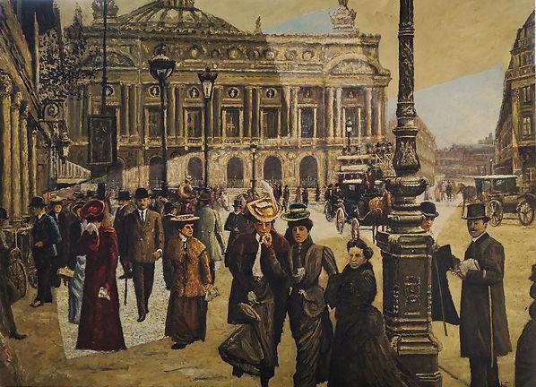 73x100 Avenue de l'Opéra, Paris 1900.jp