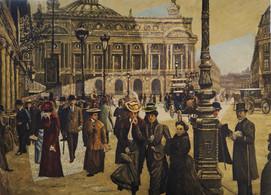 Avenue de l'Opéra, Paris 1900