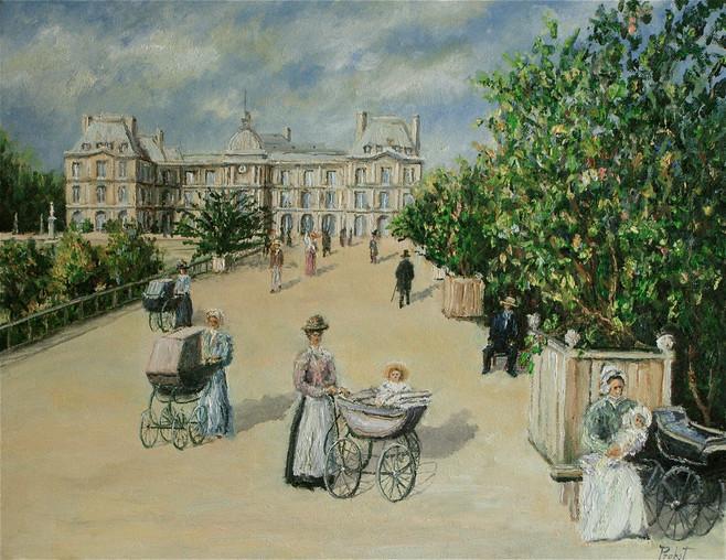 Le Jardin de Louxembourg