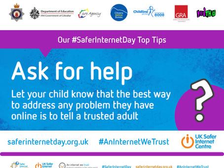 We Support Safer Internet Day 2021
