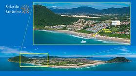 Pousada_Solar_do_Santinho_Localização.