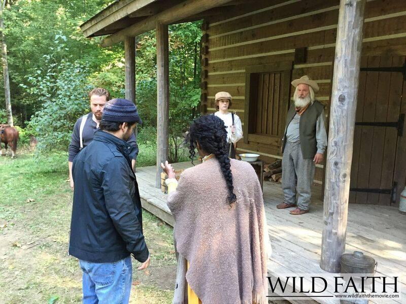 Wild Faith - Production Still
