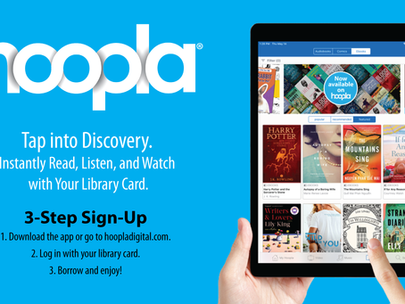 Hoopla Digital Collection Available Through Online Catalog
