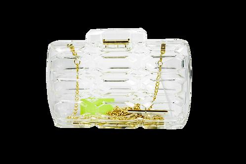Symmetric Geo Transparent Clutch