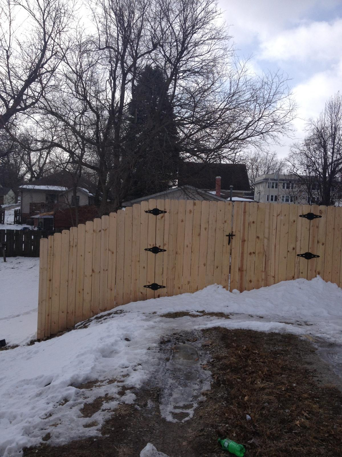 Good Neighbor Fencing Wood Fence New