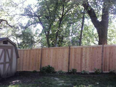 Good Neighbor Fencing Wood Fence