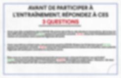 Affiche 3 questions avant de participer